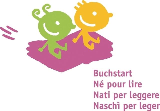 """Logo """"Buchstart Schweiz"""""""