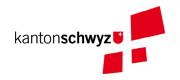 Logo Volkswirtschaftsdepartement Kanton Schwyz