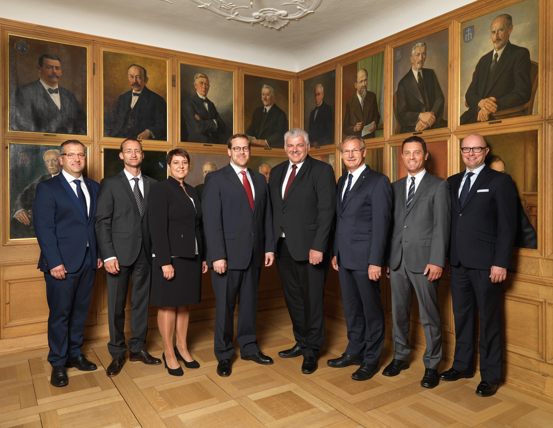 Gruppenbild Regierungsrat 2016
